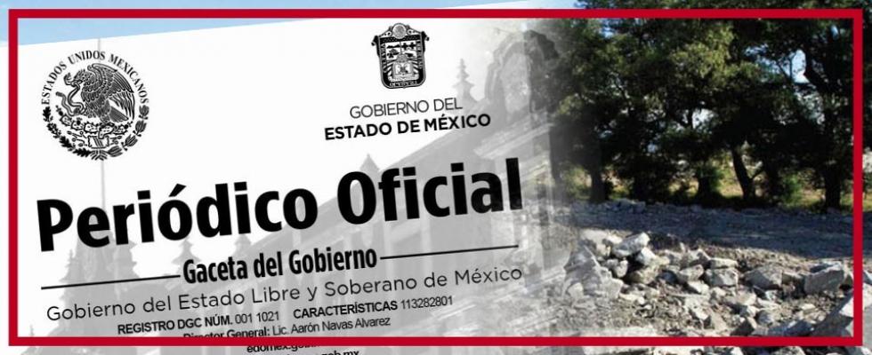 Edo. México: Listado de actividades que requieren de manifestación de impacto ambiental.
